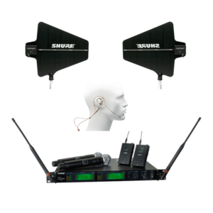 Shure UR4D H4 Wireless Mic System