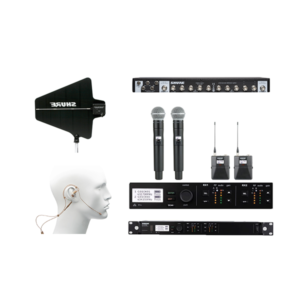 uhf 8 pack wireless mic system