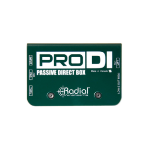 radial prodi box passive direct box