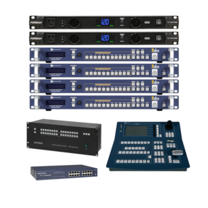 video switcher rack system rental